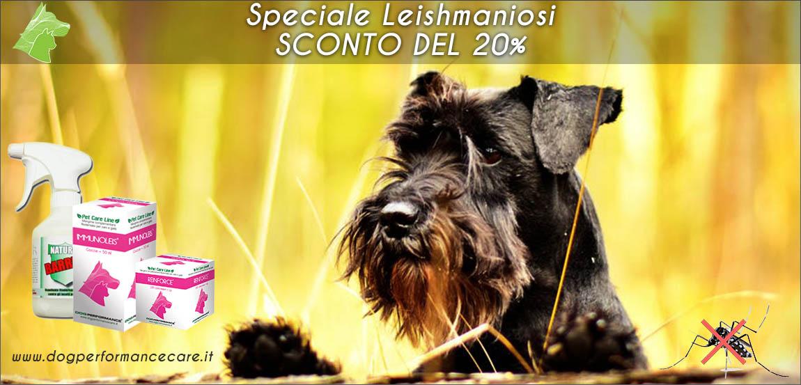 Speciale Leishmaniosi - Sconto del 20%